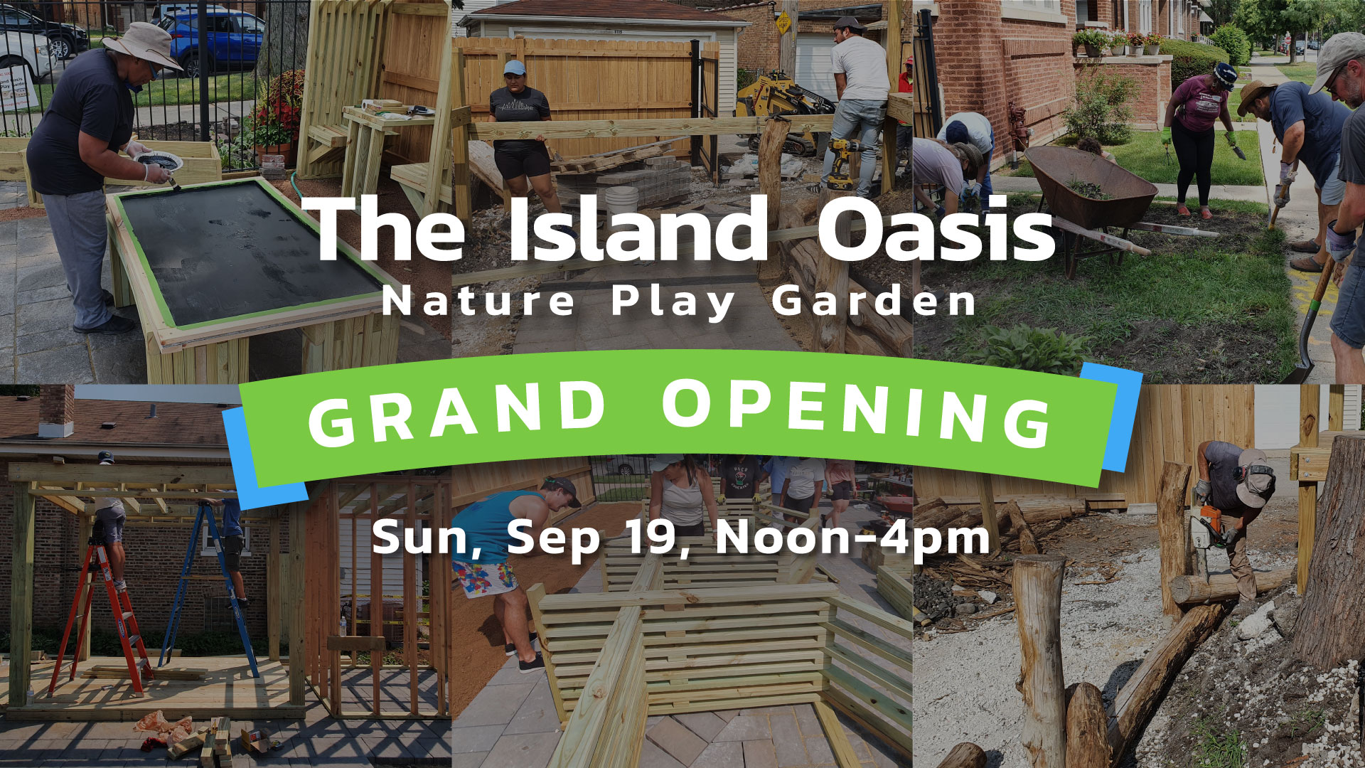 The Island Oasis Nature Play Garden Austin Chicago